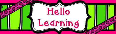Hello Learning!