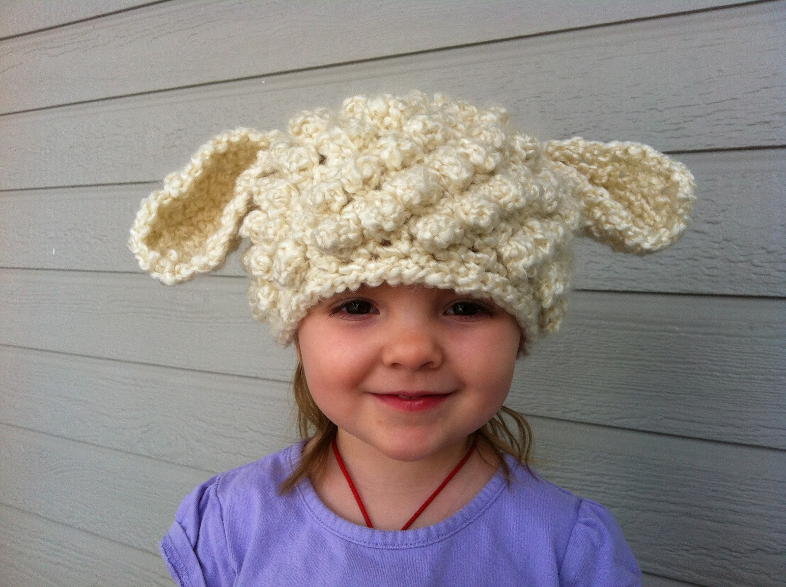 Design Adventures: Crochet Lamb Hat