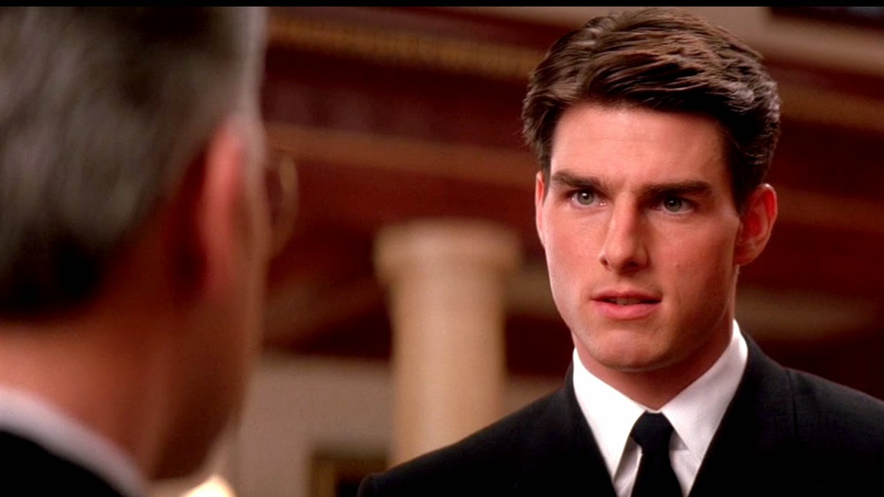 a review of the movie a few good men At some point in any tom cruise movie, there's the pivotal moment when cruise, having displayed his cockiness and callow youth, realizes it's time to hunker down and fly that plane/mix that drink/protest that war/win that land rush in a few good men, the moment takes place in court — cruise.