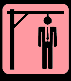 Death Penalty Capital Punishment Hangman Noose India Cartoon
