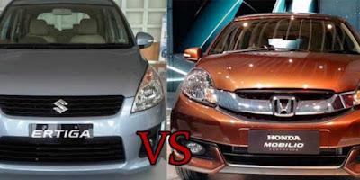 Honda Mobilio vs Suzuki Ertiga