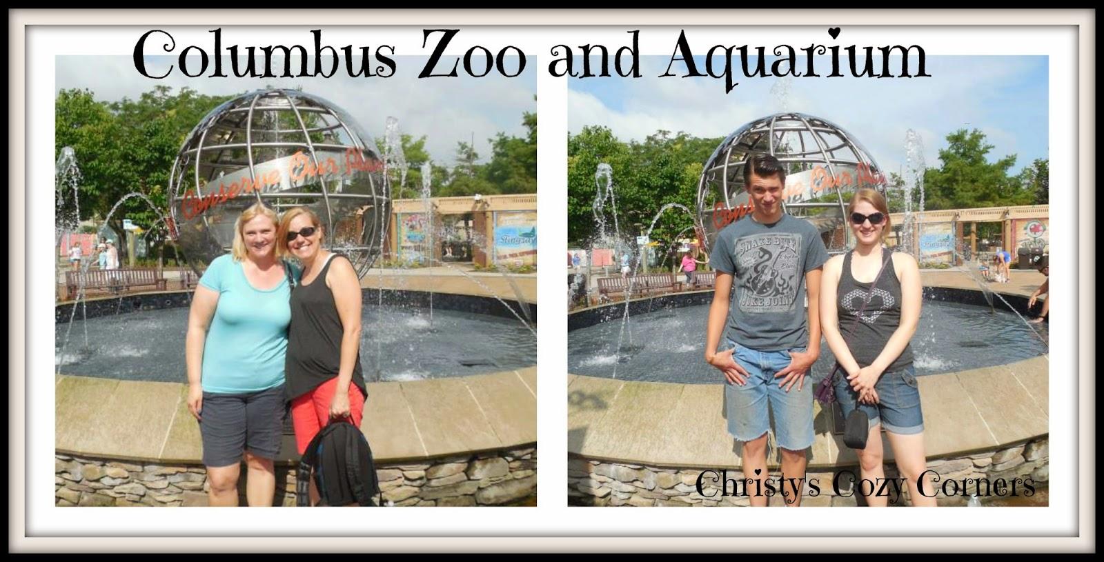 Columbus zoo and aquarium roar and explore christy 39 s for Fish store columbus ohio