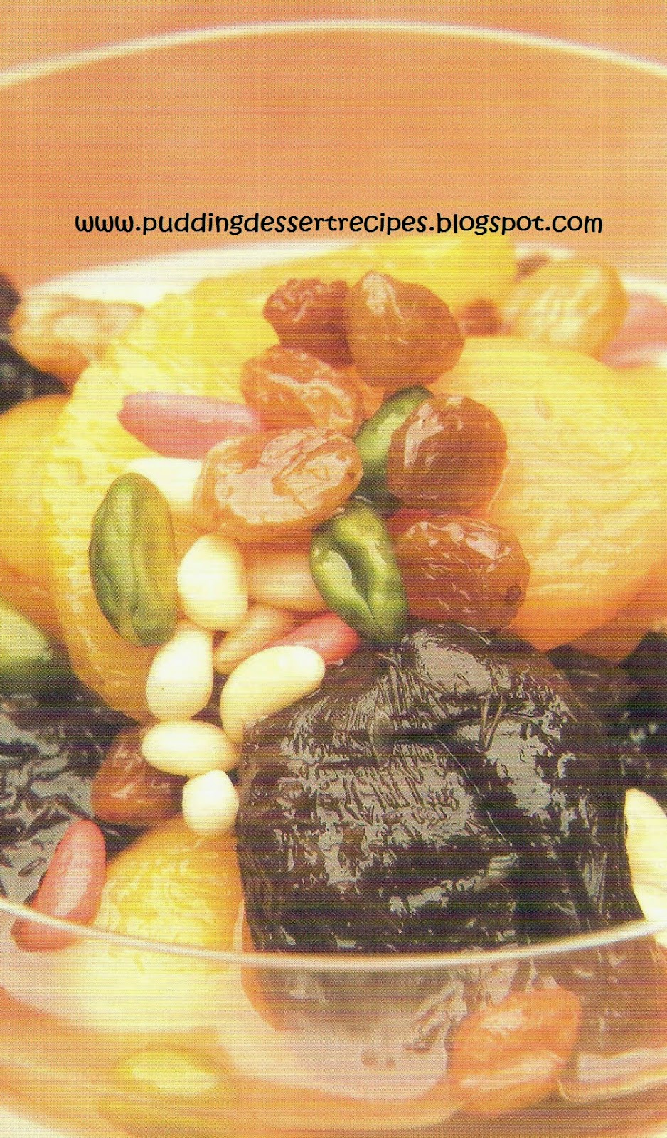 Hunza with Orange and Pistachios