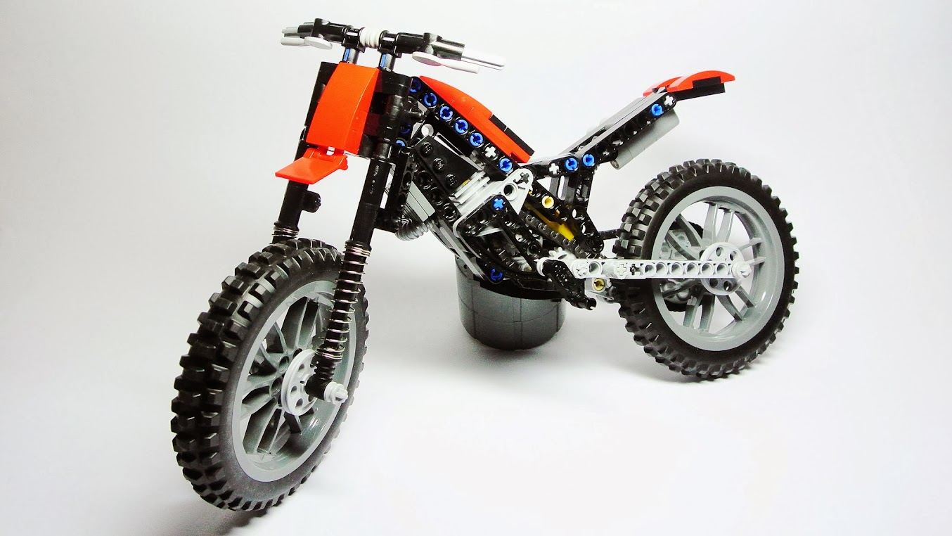 lego technic motorcycles trial motorcycle by hajdekr. Black Bedroom Furniture Sets. Home Design Ideas