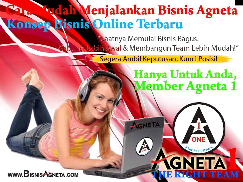Web Replika Bisnis Agneta (Gratis)