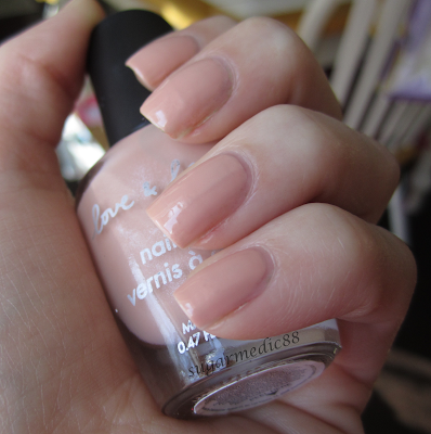 Forever 21 Love & Beauty Nude Swatch