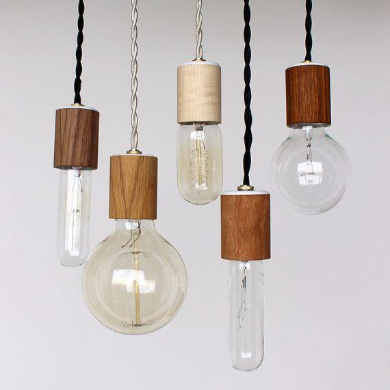Luminária reutilize materiais