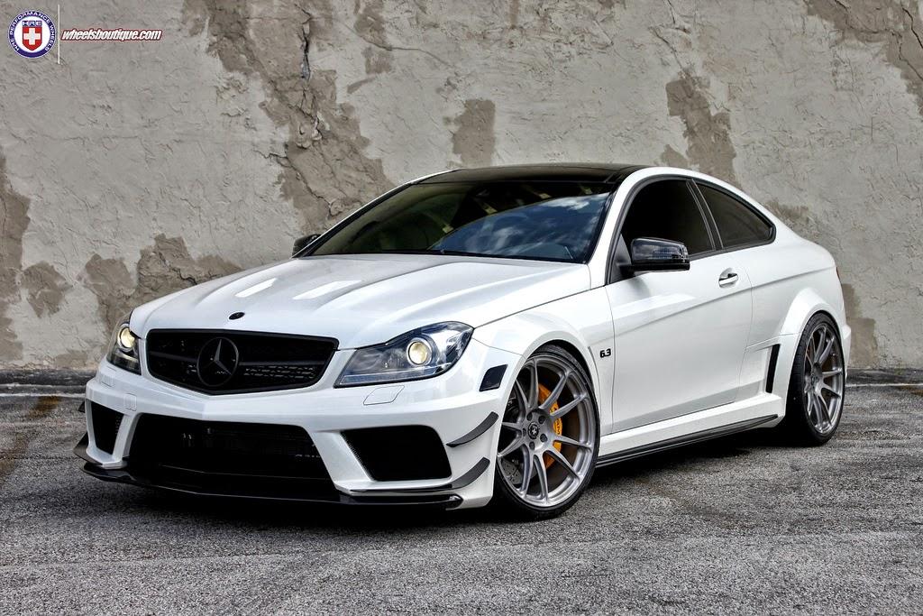 Mercedes benz c63 amg black series on hre performance for Mercedes benz e series amg