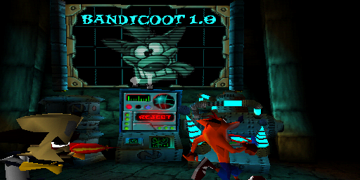 Bandicoot 1.0 screen