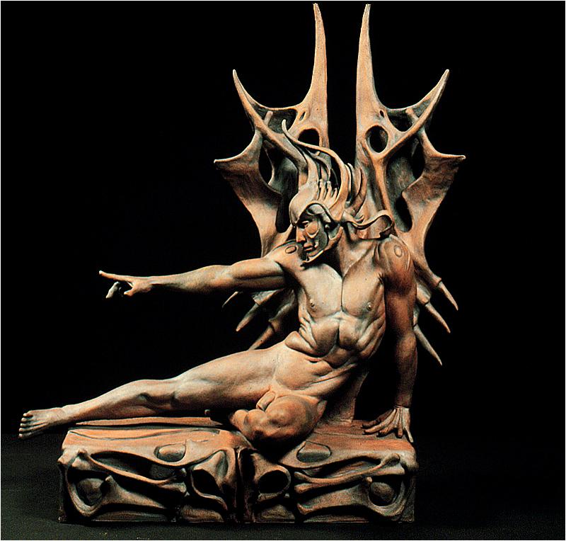 Robert John Guttke Sculpture: Bone Duo