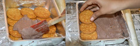 how to make marie biscuit pudding