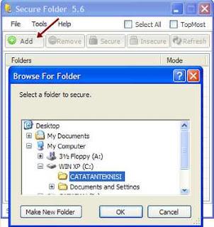add folder secure folder