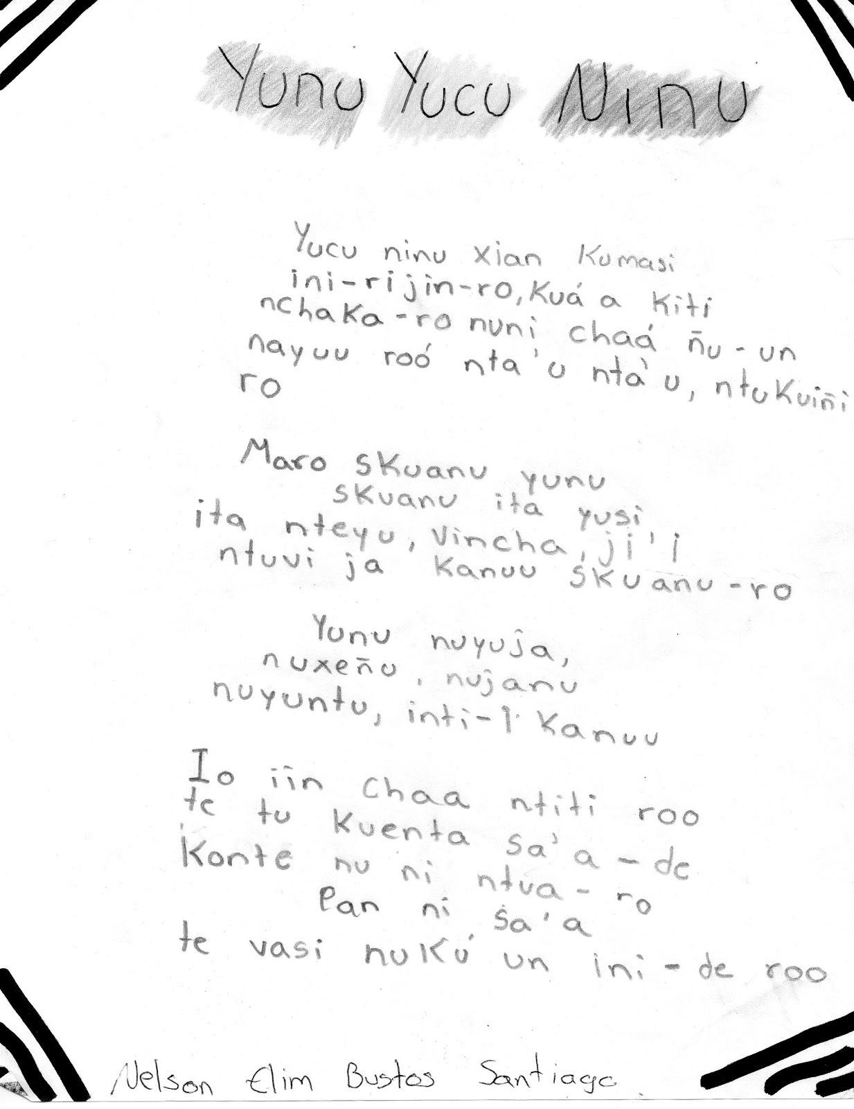 Poemas Cortos En Nahuatl Y Su Traduccion | apexwallpapers.com