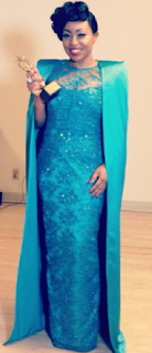 See what Rita wore to Nigeria Entertainmnent Awards