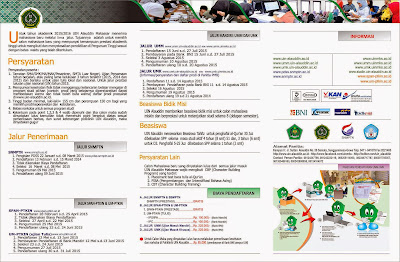 Jalur Penerimaan Mahasiswa Baru UIN Alauddin Makassar 2015
