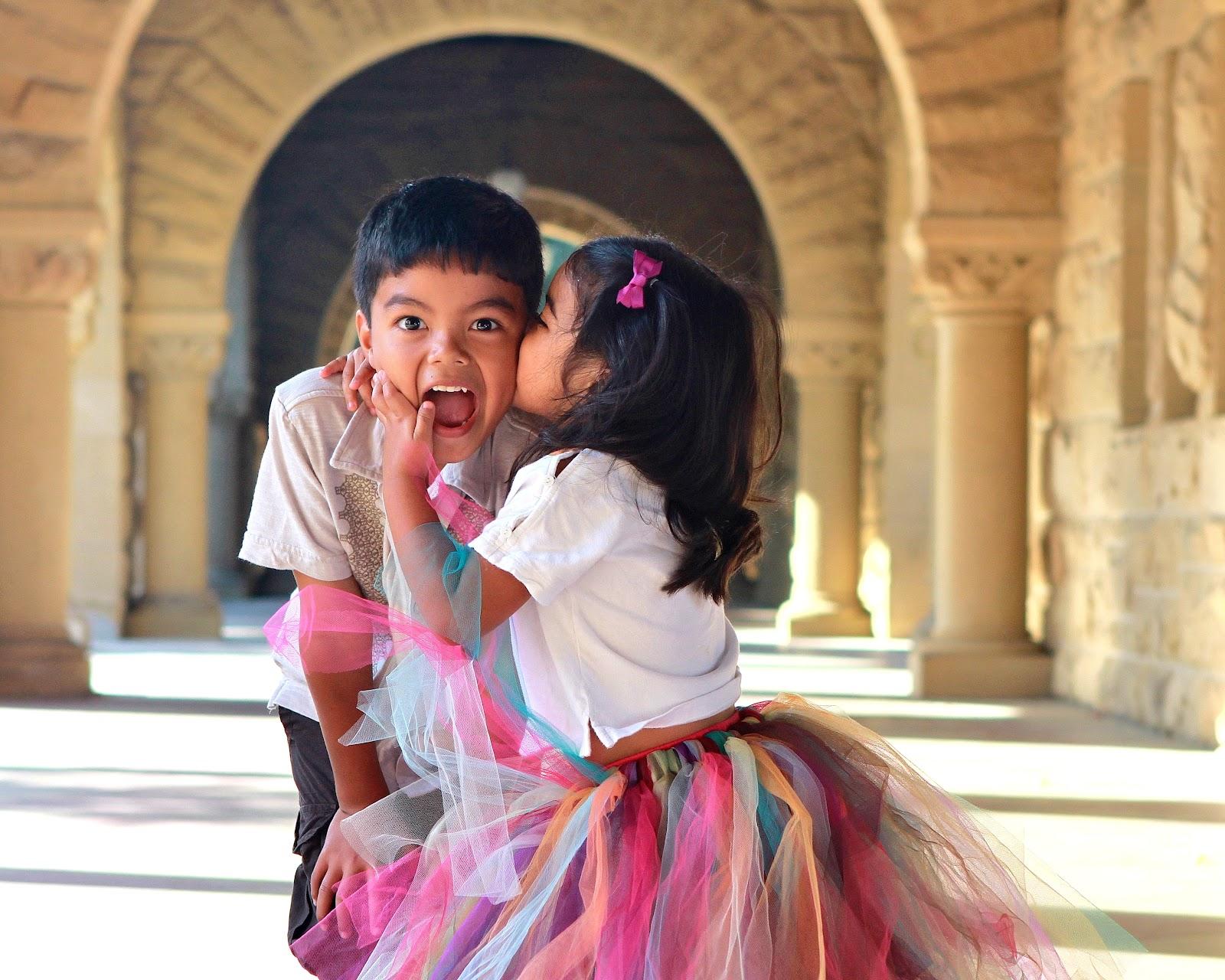 kids kisses I HEART FACES: Hugs and Kisses   Li'l Sis Kiss