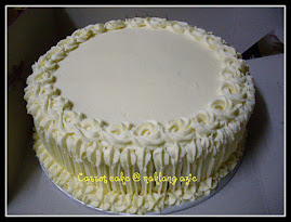 "Carrot Cake 8""  @RM65"