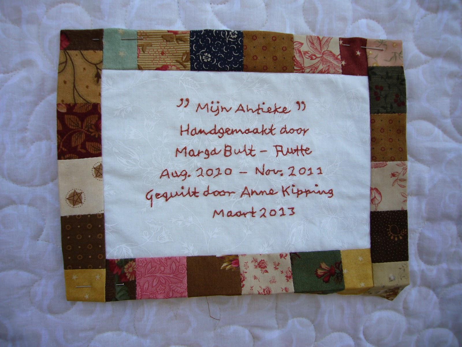 Antieke etiket