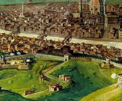 Giovanni Stradano: The Siege of Florence, Palazzo Vecchio, Sala di Clemente VII.