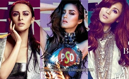 Kim Chiu, Marian Rivera, and Toni Gonzaga cover Metro's Silver Anniversary issue