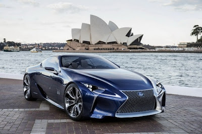 Lexus LF-LC, concept cars, hybrid luxury cars, lexus, luxury cars 2012