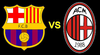 Barcelona Vs AC Milan