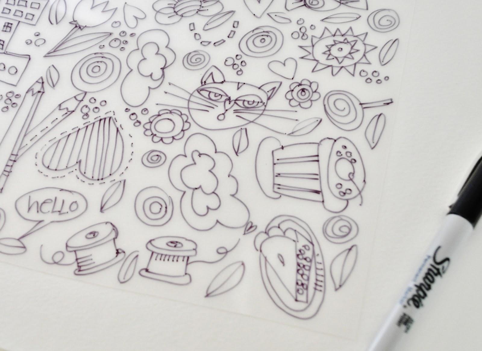 Kelli Nina Perkins Likes Loves Mini Doodle Charms Tutorial