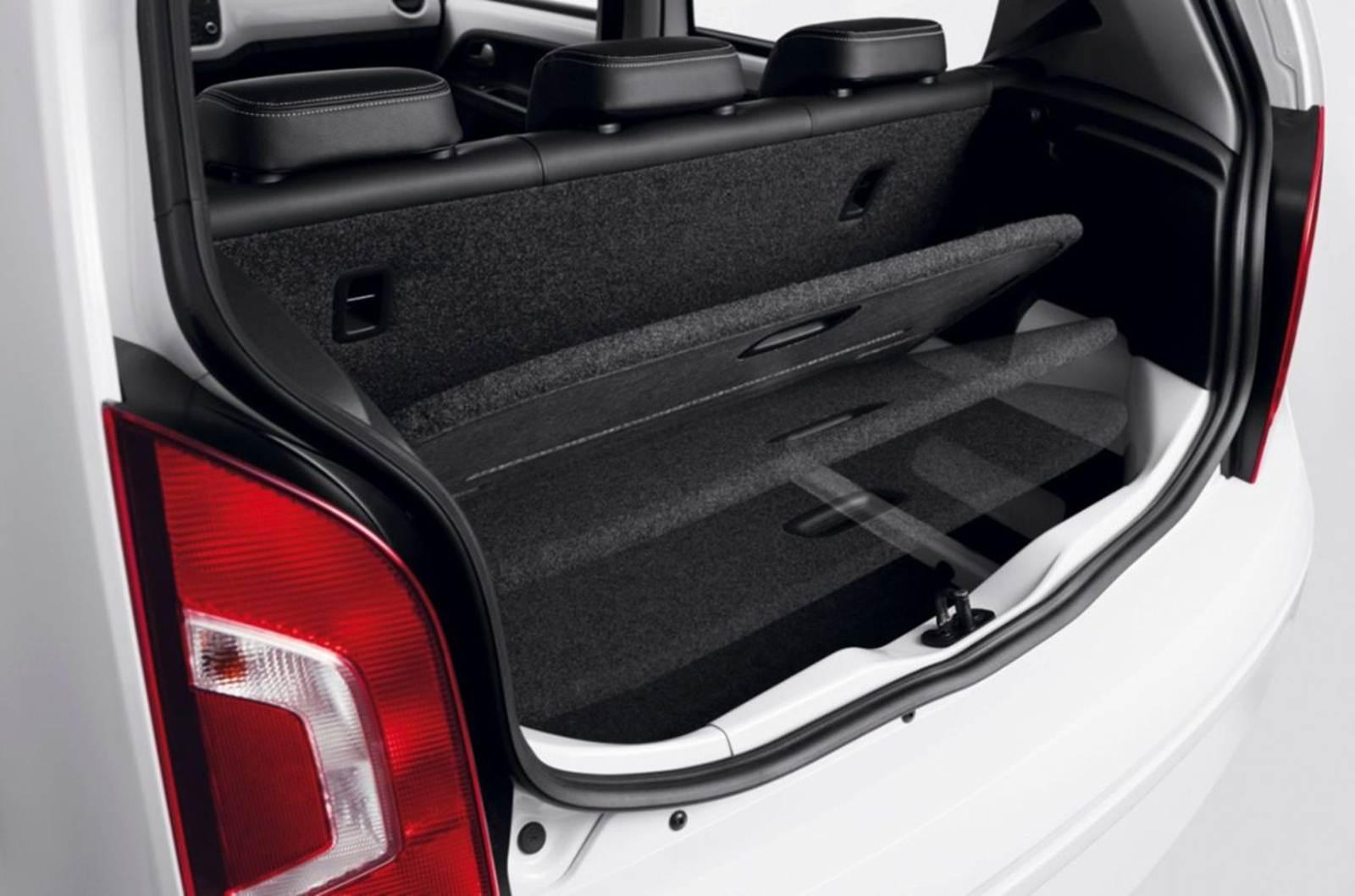 Volkswagen up! - impressões do proprietário - porta-malas - sistema s.a.v.e.