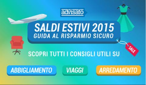 Saldi Estivi 2015: guida al risparmio sicuro