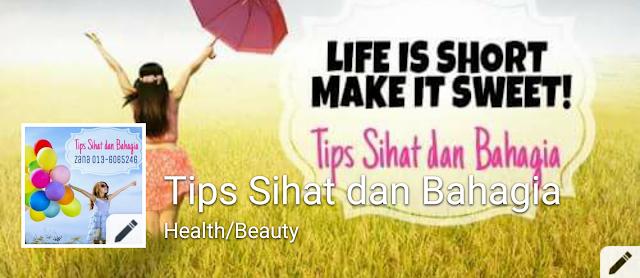 Fanpage Tips Sihat dan Bahagia