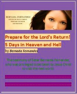 prepare for the lords return She met jesus christ—king of kings and lord of lords—the one who is more marvelous than the angels dressed in white with a golden sash on his chest, on which is.