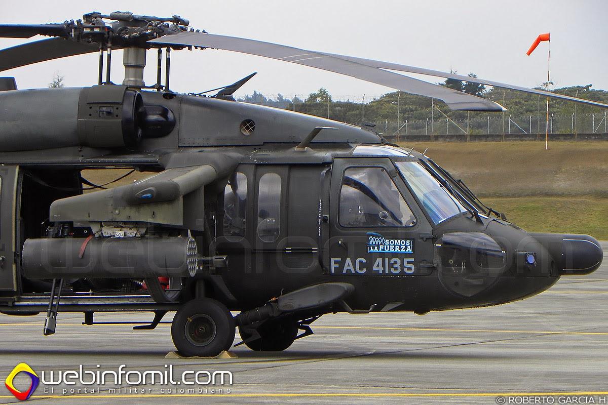 Arpía II Fuerza Aérea Colombiana