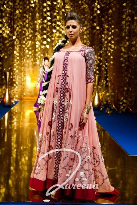 Zareena Arabian Dresses For Wedding 2012
