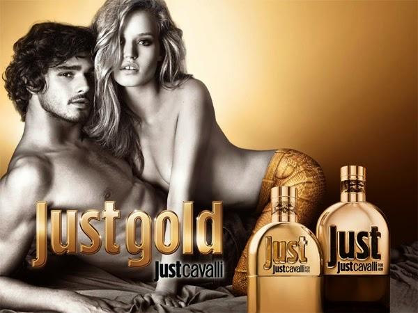 Just Gold Novos Perfumes de Roberto Cavalli