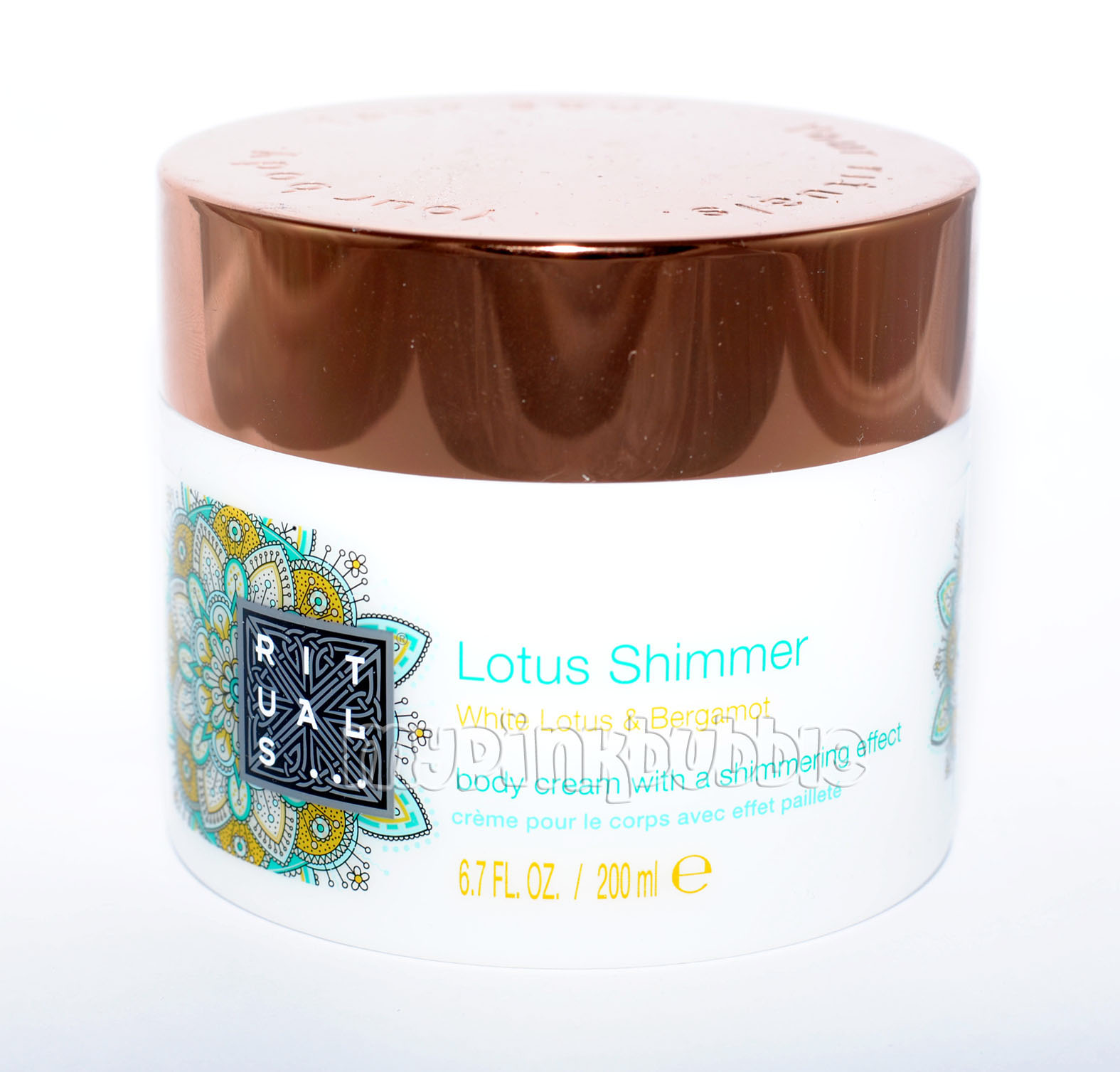 Rituals Lotus Shimmer Body Cream Shimmering Effect