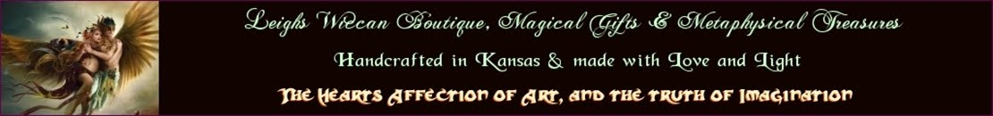 Leighs Boutique Handcrafted Metaphysical Gifts and Vintage Collectibles