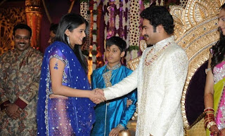 Priyamani at JrNTR wedding