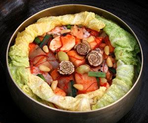 resep Bo ssam kimchi (보쌈김치)