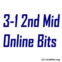 3-1 2nd Mid Online Bits of JNTUK