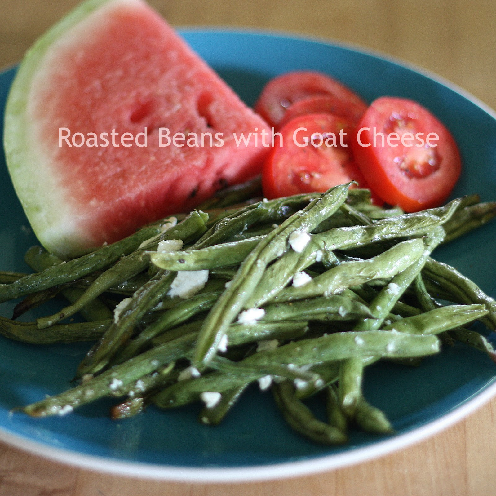 Clawson Live: Roasted Green Beans with Goat Cheese
