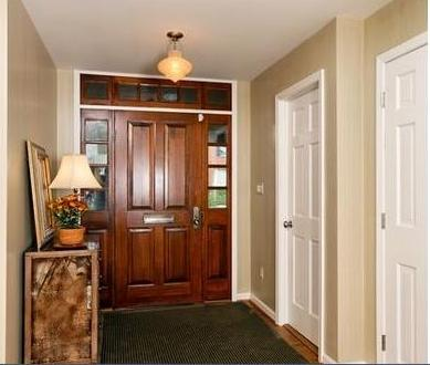 Pin puertas madera decoracion interiores pic 14 on pinterest for Molduras para decorar puertas