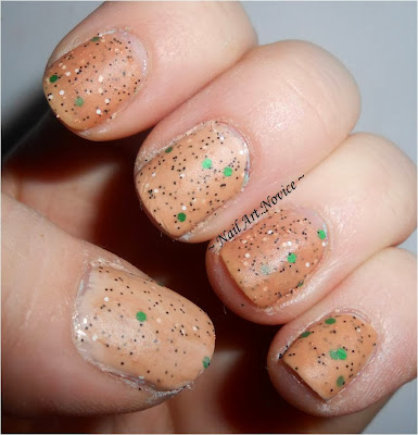 Swatch of Nelly Polishes-Gumpas
