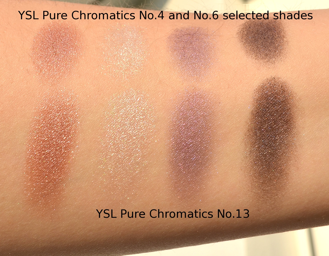 Ysl pure chromatics no13 from summer 2013 saharienne heat final thoughts i am always a big fan of ysl pure chromatics lasting power color selection and the possibility to adjust the intensity of application by ccuart Gallery
