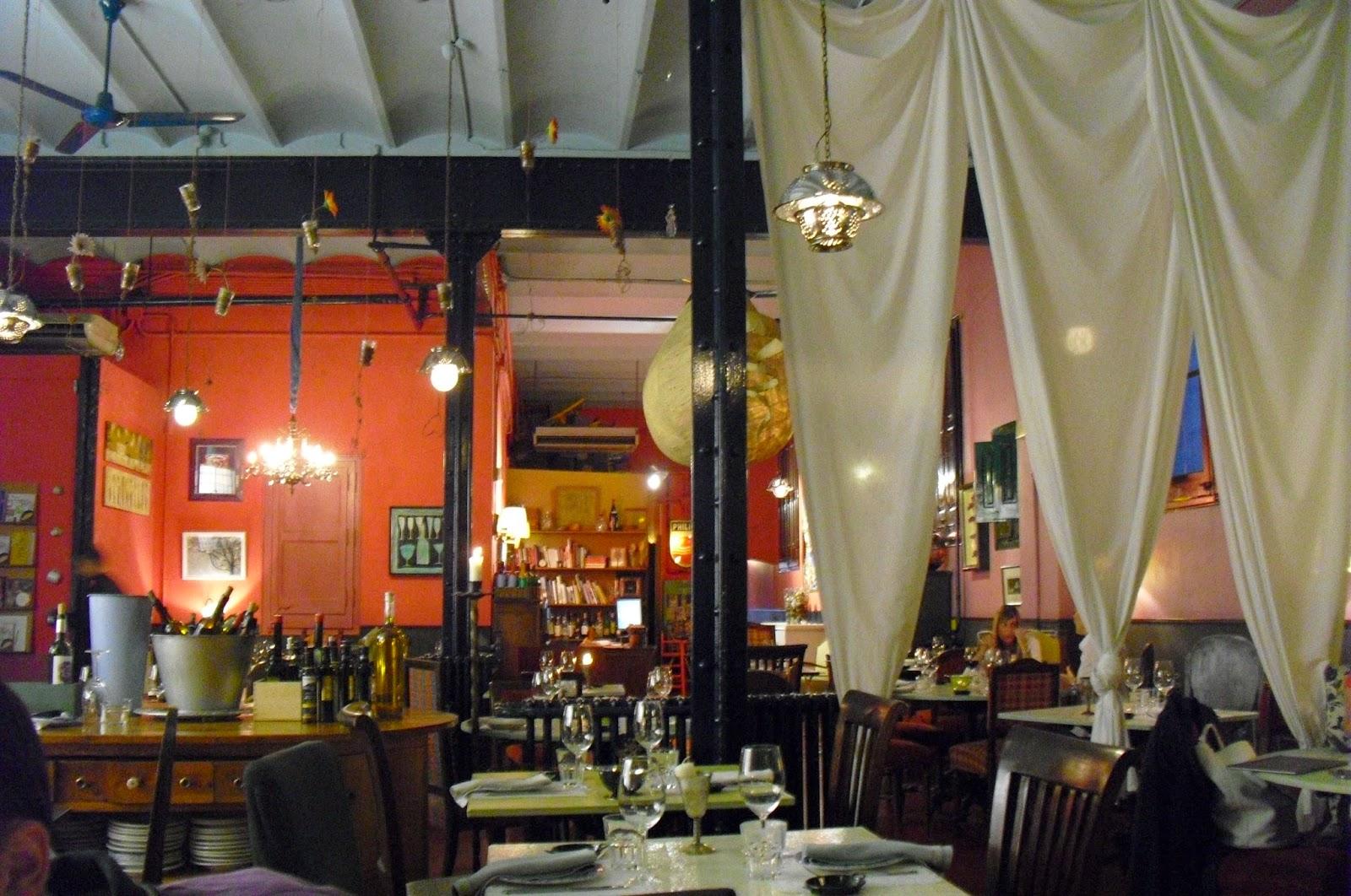 Cuino Ergo Sum Restaurant Semproniana Eixample Barcelona  ~ Restaurant Semproniana Barcelona