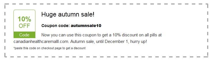 10% Discount on www.canadianhealthcaremalll.com