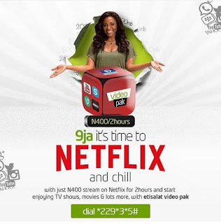 Etisalat Netflix plan Netflix nigeria