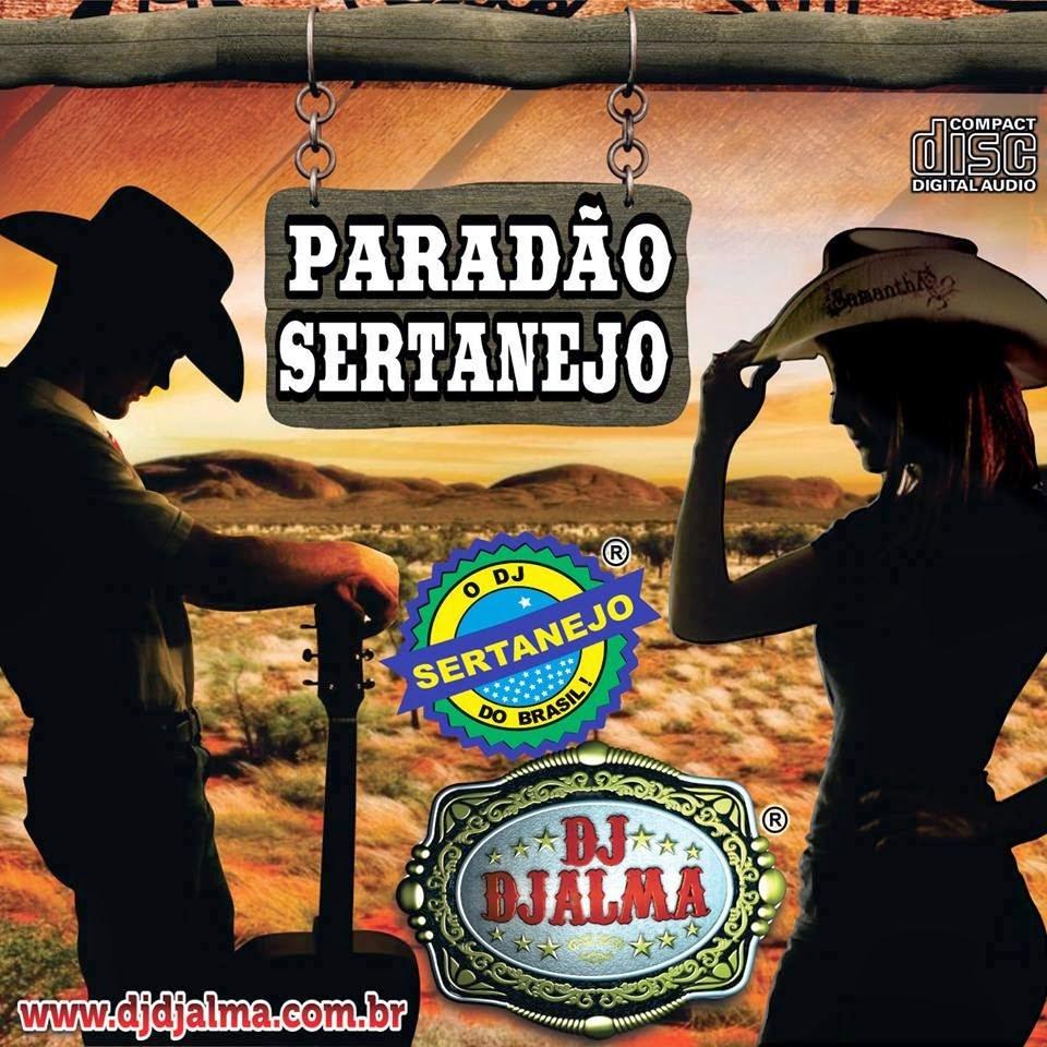 poster Paradão Sertanejo By Dj Djalma