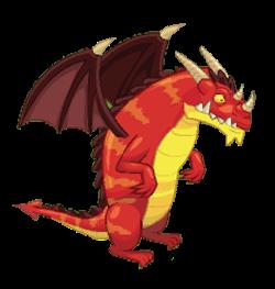 imagen del dragon feroz de social empires