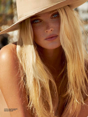 Elsa Hosk topless for Lui Magazine July August 2015 Photoshoot