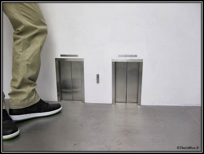 galerie perrotin mini-ascenseur